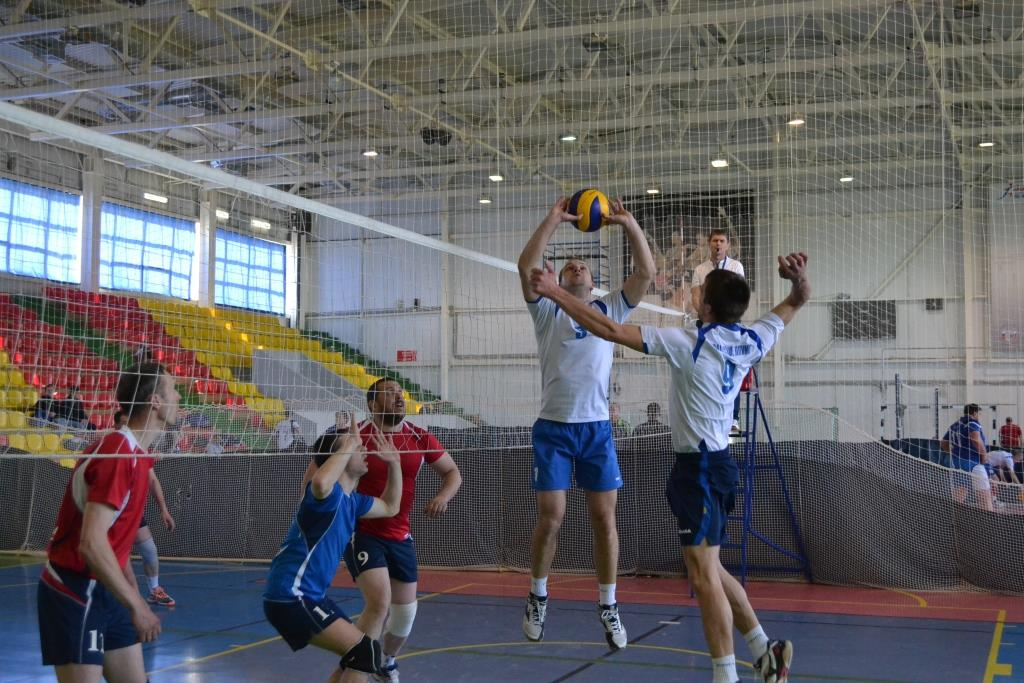 Турнир по волейболу IX Спартакиады среди трудовых коллективов предприятий города