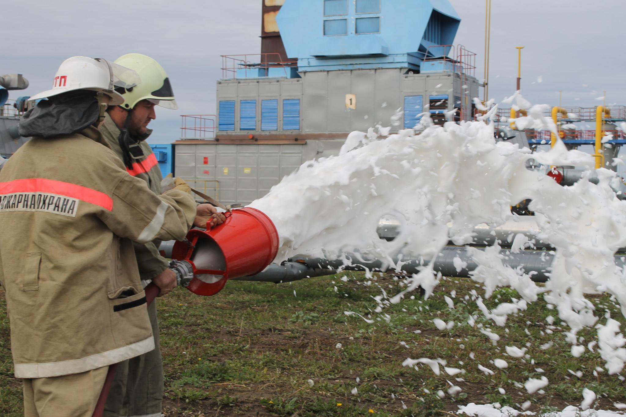 Профориентационная акция «Знакомство с профессией пожарный»