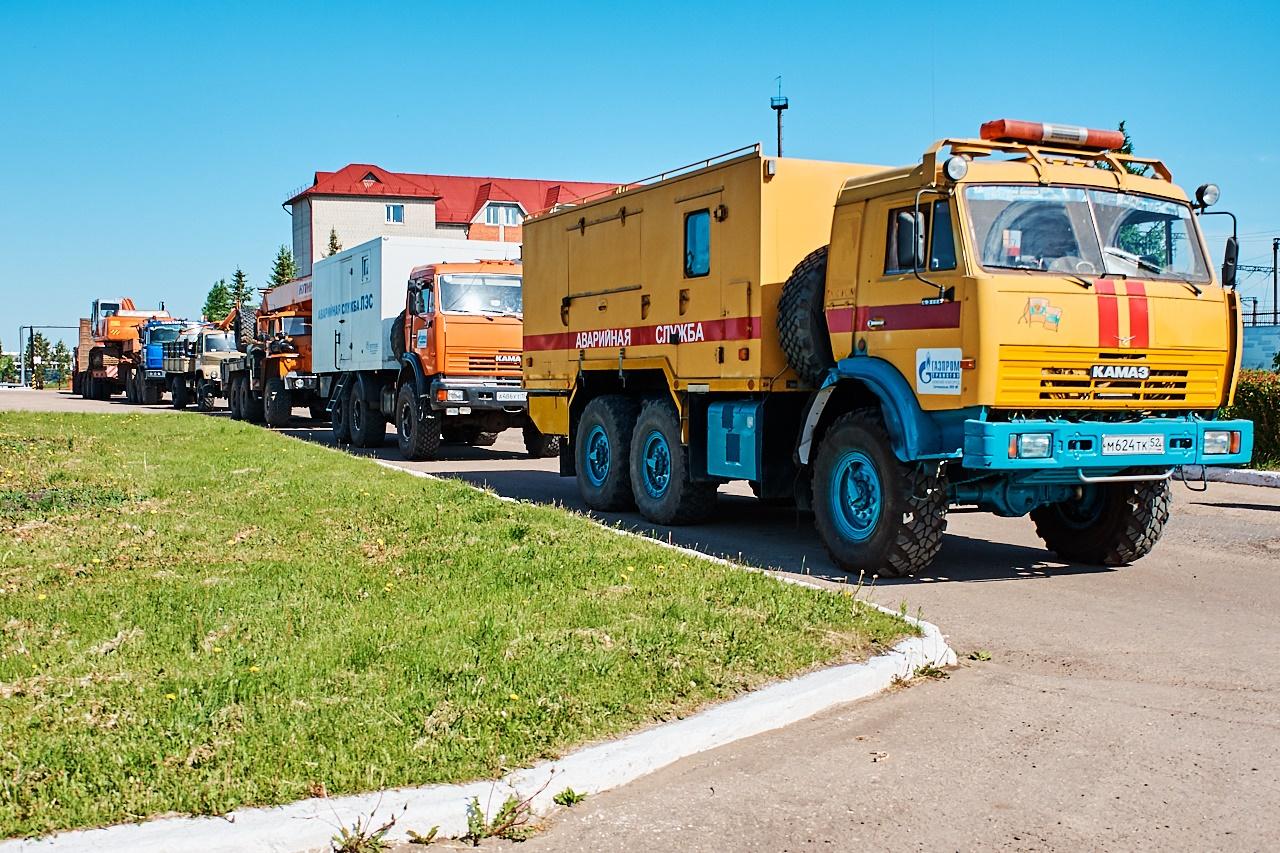 Cовместные командно-штабные учения ООО «Газпром трансгаз Нижний Новгород» и ООО «Газпром трансгаз Самара»